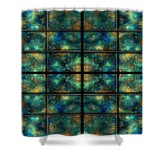 Limitless Night Sky Shower Curtain