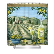 Limoncello Shower Curtain