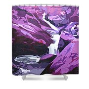 Limpy Creek Shower Curtain