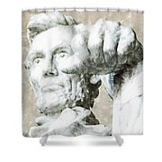 Lincoln - 3463 Light Color Pencils Hp Shower Curtain