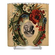 Lincoln And Garfield Shower Curtain