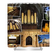 Lincoln Cathedral Shower Curtain
