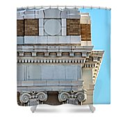 Lincoln County Courthouse Corner Shower Curtain