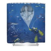 Lincoln Diving Center Shower Curtain