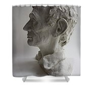 Lincoln-honest Abe Shower Curtain