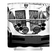 Lincoln Horns Shower Curtain