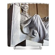 Lincoln II Shower Curtain