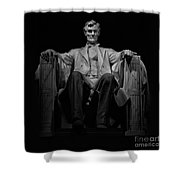 Lincoln In Solitude Shower Curtain