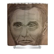 Lincoln Shower Curtain by Irving Starr