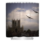 Lincoln Lancs Shower Curtain