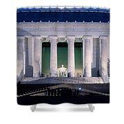 Lincoln Memorial At Dusk, Washington Shower Curtain