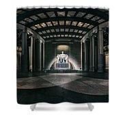 Lincoln Memorial Shower Curtain by Eduard Moldoveanu