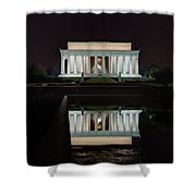 Lincoln Reflection Shower Curtain