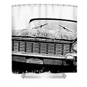 Lincoln Shower Curtain by Scott Pellegrin
