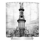 Lincolns Gettysburg Address Site  Shower Curtain