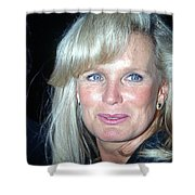 Linda Evans 1991 Shower Curtain