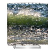 Linda Mar Beach - Northern California Shower Curtain
