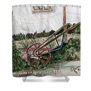 Lindas' Garden Shower Curtain