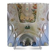 Lindenberg Organ And Ceiling Shower Curtain