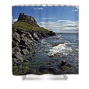Lindisfarne Castle Shower Curtain