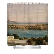 Lindos Rhodes Shower Curtain