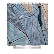 Lines - Shapes - Colors Shower Curtain