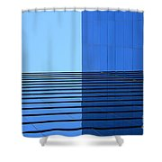 Squared Reflection Shower Curtain