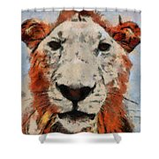 Lionart Shower Curtain