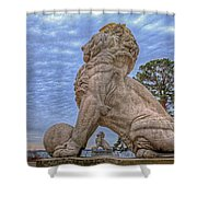 Lions Bridge East Lake Side Shower Curtain
