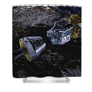 Lisa Pathfinder Shower Curtain