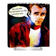 Listen To James Shower Curtain