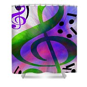 Listen To The Music Shower Curtain