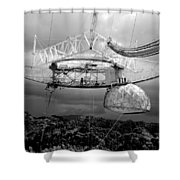 Listening For Life Shower Curtain