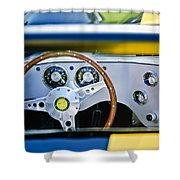 Lister Steering Wheel Shower Curtain