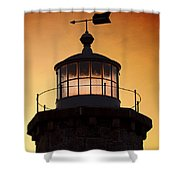 Lit House Shower Curtain