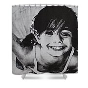 Little Ballerina Shower Curtain