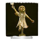 Little Bear Dancer Shower Curtain