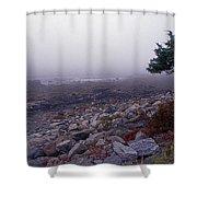 Little Boars Head Beach Shower Curtain