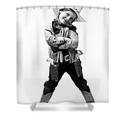 Little Buckaroo Shower Curtain