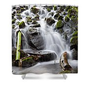 Little Cascade In Marlay Park Dublin Shower Curtain