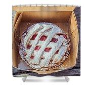 Little Cherry Pie Shower Curtain