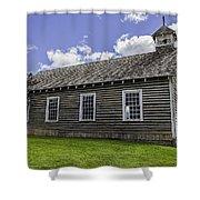 Little Church - World Mining Museum Shower Curtain