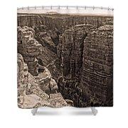 Little Colorado River Overlook Shower Curtain