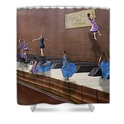 Little Composers IIi Shower Curtain