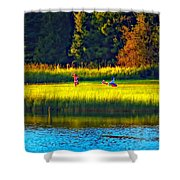 Little Dreamers Shower Curtain