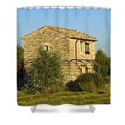 Little French Farmhouse Shower Curtain