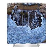 Little Frozen Waterfall Shower Curtain