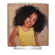 Little Girl Shower Curtain