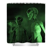 Aliens And Ufo 6 Shower Curtain