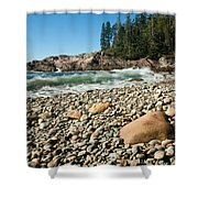 Little Hunter's Beach  0009 Shower Curtain